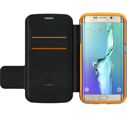 Gear4 D3O Book Case Samsung Galaxy S6 Edge Zwart