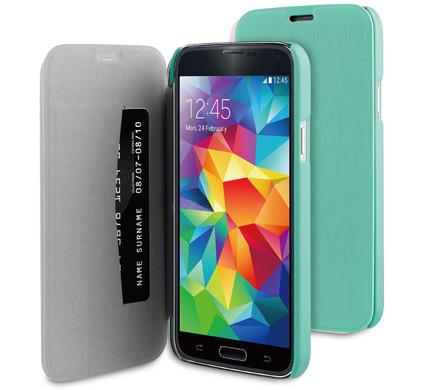 BeHello Book Case Samsung Galaxy S5 / S5 Neo Groen