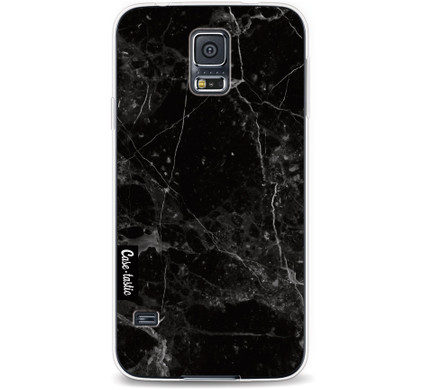 Casetastic Softcover Samsung Galaxy S5 Black Marble