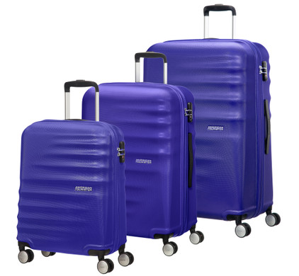 American Tourister WaveBreaker Set A 3 Stuks Nautical Blue