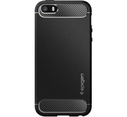 Spigen Rugged Armor Apple iPhone 5/5S/5SE Zwart