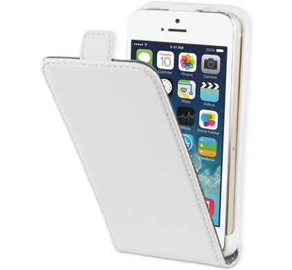 BeHello Flip Case Apple iPhone 5/5S Wit