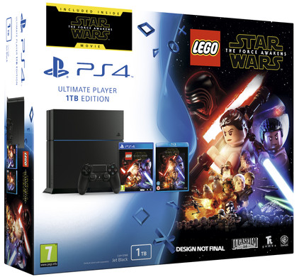 Sony PlayStation 4 1 TB + Star Wars: The Force Awakens