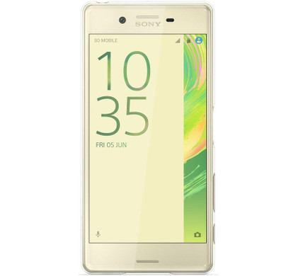Sony Xperia X Style Cover Transparant