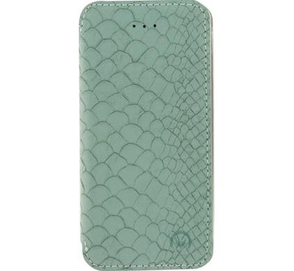 Mobilize Slim Booklet Book Case Apple iPhone 5/5S/SE Soft Snake Groen