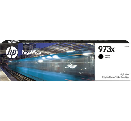 HP 973X PageWide Cartridge Zwart (L0S07AE)