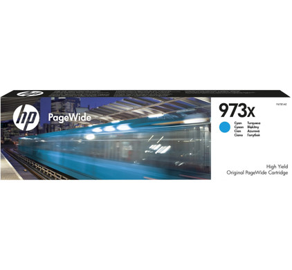 HP 973X PageWide Cartridge Cyaan (F6T81AE)