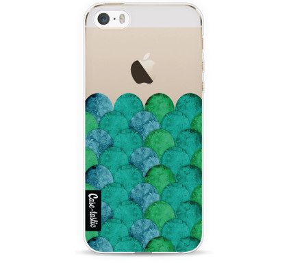 Casetastic Softcover Apple iPhone 5/5S/SE Emerald Waves