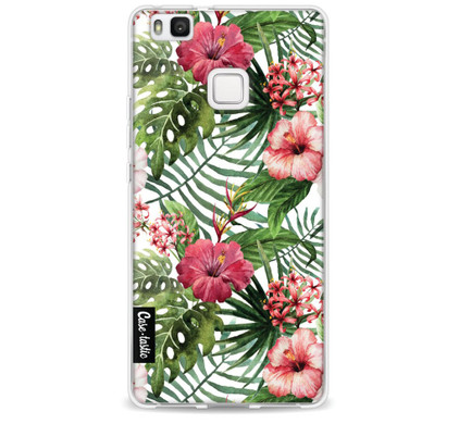 Casetastic Softcover Huawei P9 Lite Tropical Flowers