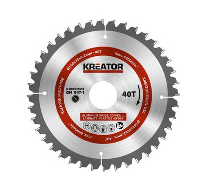 Kreator Universeel Zaagblad 160x30x2.2mm 40T