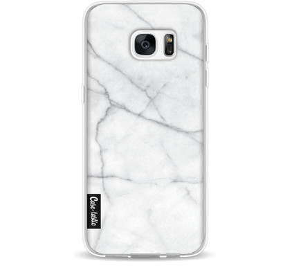 Casetastic Softcover Samsung Galaxy S7 Edge White Marble