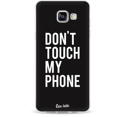 Casetastic Softcover Samsung Galaxy A5 (2016) Don't Touch My Phone