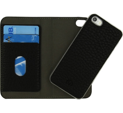 Mobilize Detachable Wallet Book Case Apple iPhone 5/5S/SE Zwart