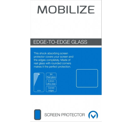 Mobilize Edge To Edge Glass Samsung Galaxy S7 Zilver