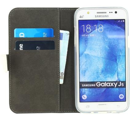 Mobilize Gelly Wallet Book Case Samsung Galaxy J5 Wit