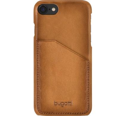 Bugatti Snap Case Londra Pocket Apple iPhone 7/8 Bruin