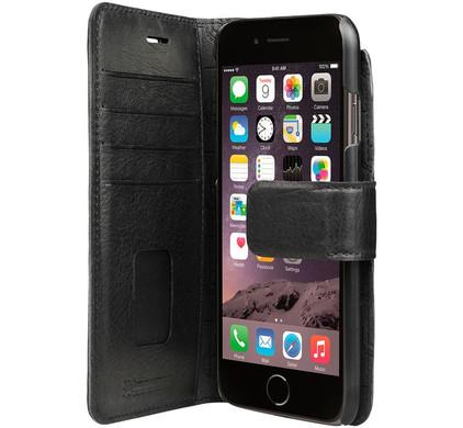 Bugatti Book Case Zurigo Apple iPhone 7/8 Zwart