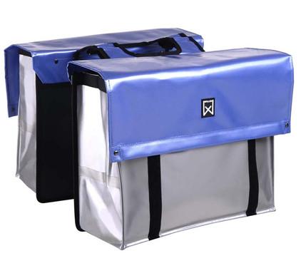 Willex Bisonyl Compact Zilver/Metallic Blauw