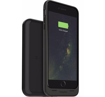 Mophie Juice Pack Wireless Apple iPhone 6 Plus/6s Plus Zwart