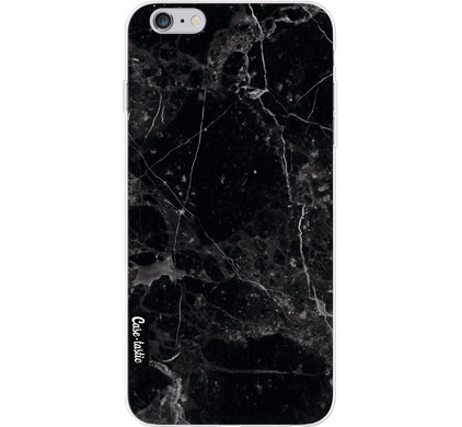 Casetastic Softcover Apple iPhone 6 Plus/6s Plus Black Marble