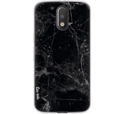 Casetastic Softcover Motorola Moto G4/G4 Plus Black Marble