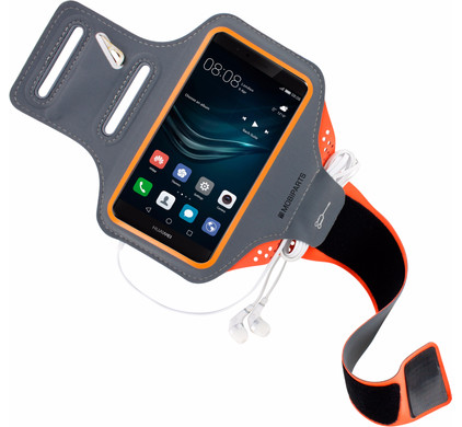 Mobiparts Comfort Fit Sportarmband Huawei P9 Oranje