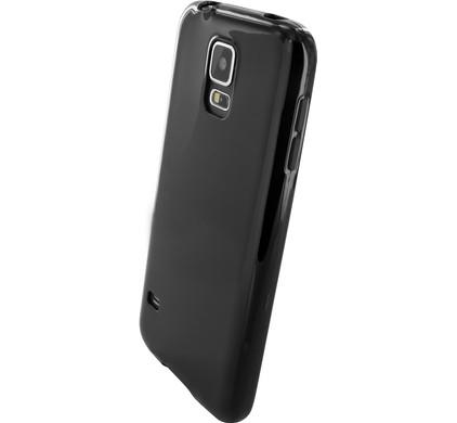 Mobiparts Essential TPU Case Samsung Galaxy S5/S5 Plus Zwart