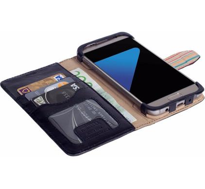 Krusell Sigtuna Wallet Case Samsung Galaxy S7 Zwart