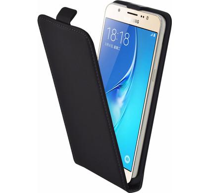 Mobiparts Premium Flip Case Samsung Galaxy J5 (2016) Zwart
