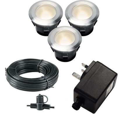 Garden Lights Larch Set 12V