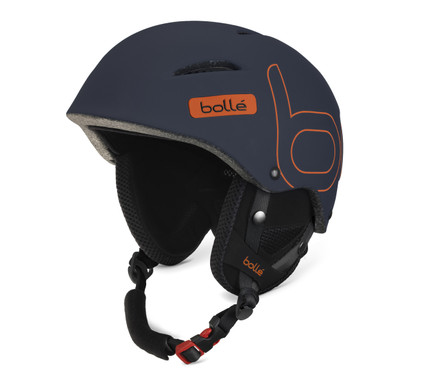 Bollé B-Style Soft Dark Blue/Orange (54 - 58 cm)