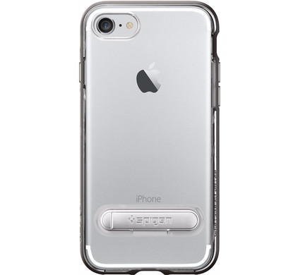 Spigen Crystal Hybrid Apple iPhone 7 Plus/8 Plus Grijs