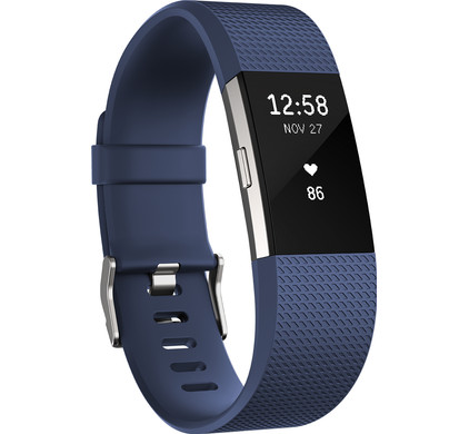 Fitbit Charge 2 Blue/Silver - L Main Image