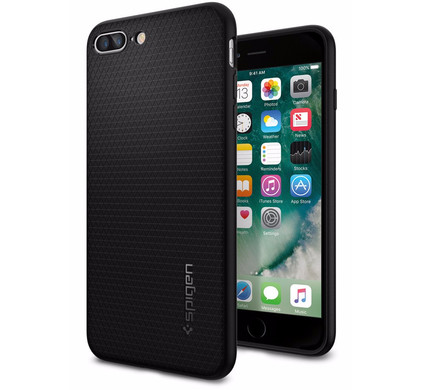 Spigen Liquid Armor Apple iPhone 7 Plus/8 Plus Zwart