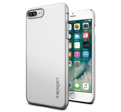 Spigen Thin Fit Apple iPhone 7 Plus/8 Plus Zilver