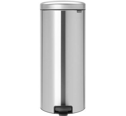 Brabantia 30 Liter Afvalemmer.Brabantia Newicon Pedal Trash Can 30 Liters Matte Stainless Steel