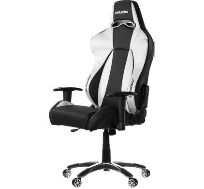 AK Racing Premium Gaming Chair Zwart / Zilver