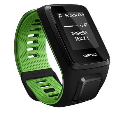 TomTom Runner 3 Cardio + Music Black/Green - S