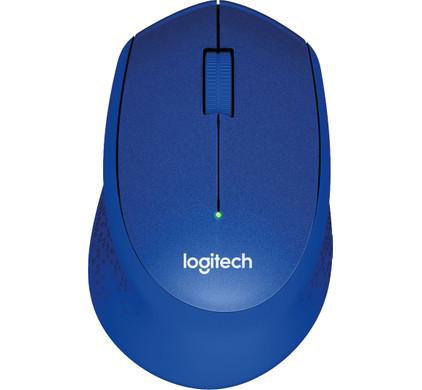 Logitech M330 Silent Draadloze Muis Blauw