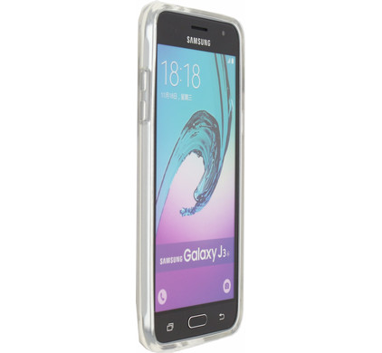 Mobilize Naked Protection Case Samsung Galaxy J3 (2016) Transparant