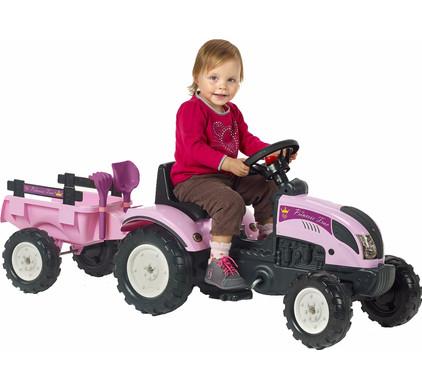Falk Tractor Met Trailer Princess