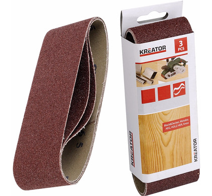 Kreator Schuurband 75x457 mm K120 (3x)