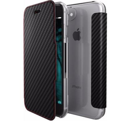 X-Doria Book Case Apple iPhone 7 Zwart