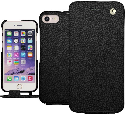 Noreve Tradition Grain Leather Case Apple iPhone 7 Plus Zwart