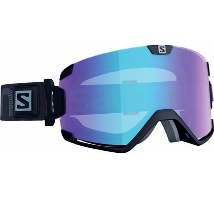 Salomon Cosmic Black + Photochromic Blue Lens