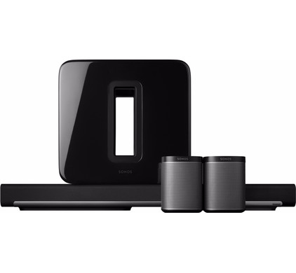 SONOS Play:1 5.1 set Zwart