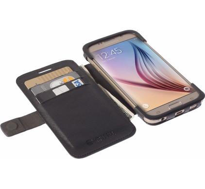 Krusell Malmo Wallet Samsung Galaxy S6 Edge Zwart