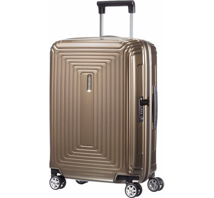 Samsonite Neopulse Spinner 55cm Metallic Sand
