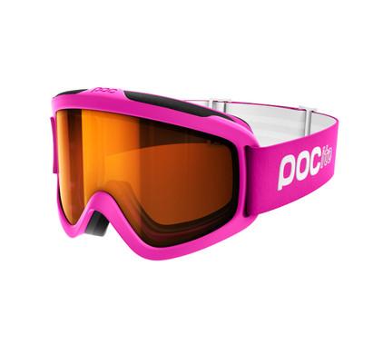 POC POCito Iris Fluorescent Pink + Sonar Orange Lens