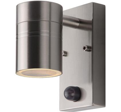 Lucide Arne LED Wandlamp Zilver met Bewegingssensor S
